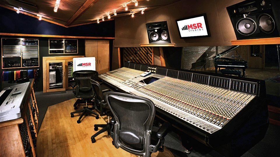 Outstanding Msr Studios The Premier Recording Studio Of New York City Largest Home Design Picture Inspirations Pitcheantrous
